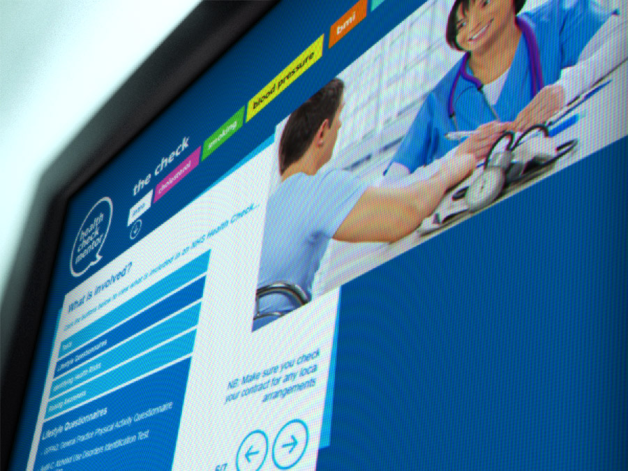 NHS Health Check Mentor - The Check