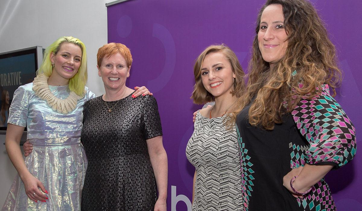Brook CEO, Helen Marshall and ambassadors