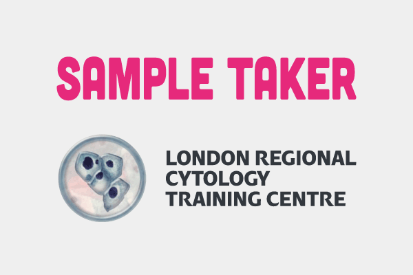 Sample Taker logo with London Regional Cytology Training Centre