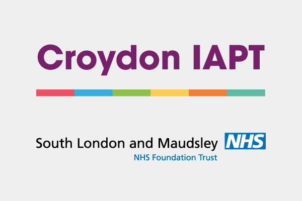 Croydon IAPT and South London and Maudsley Logo