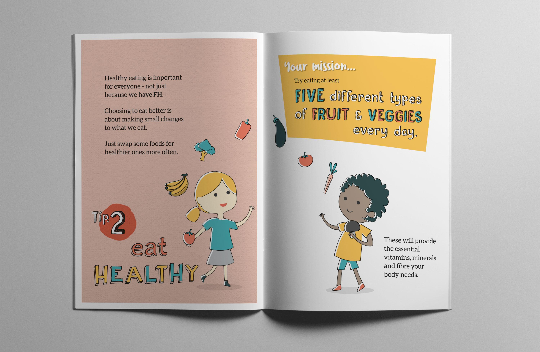 Heart UK – Familial Hypercholesterolaemia (FH) Junior books