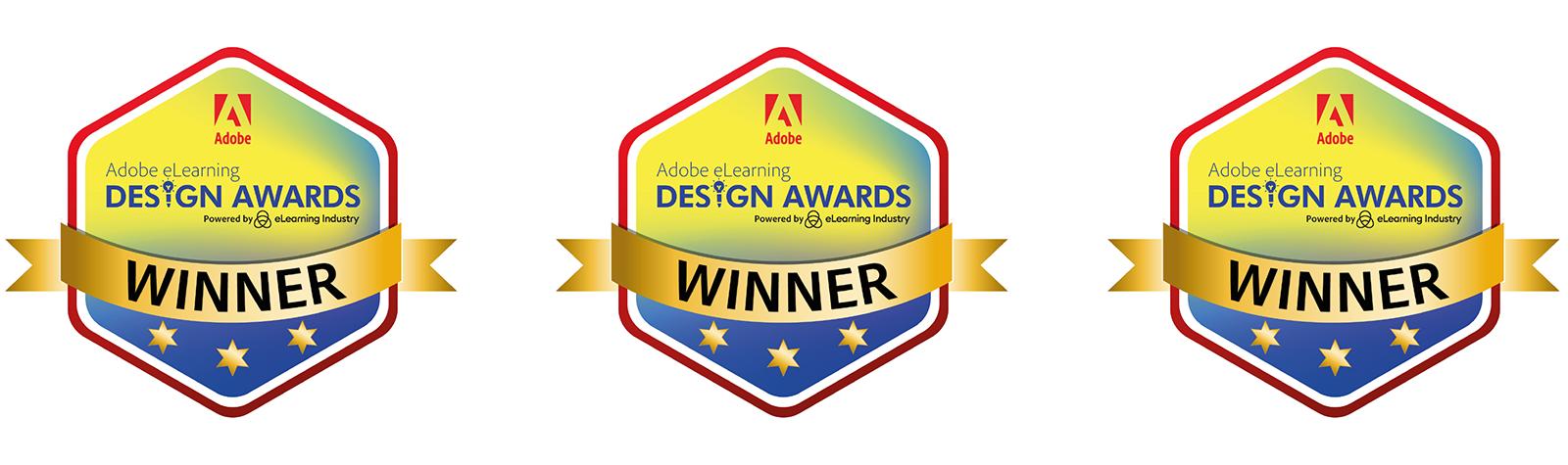 We are WINNERS: Adobe eLearning Design Awards!